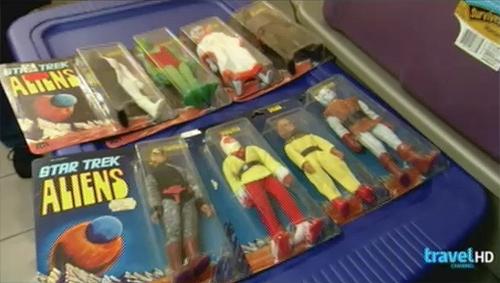 toy hunter -- star trek mego figures