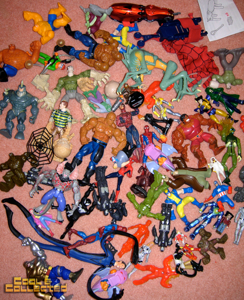 toy sale marvel action figures
