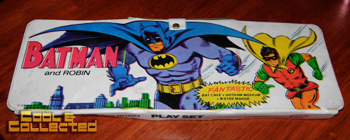 vintage ideal batman playset