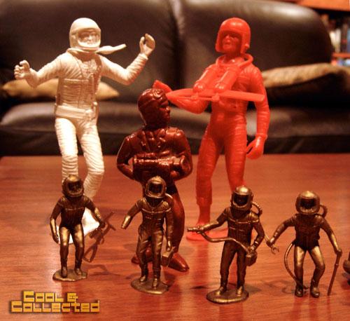 vintage toys spacemen