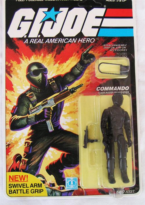 1982 G.I. Joe snake eyes action figure