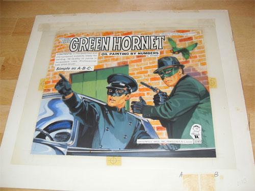 green hornet original art
