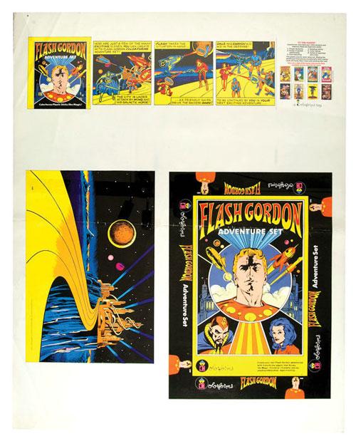 hakes flash gordon colorforms