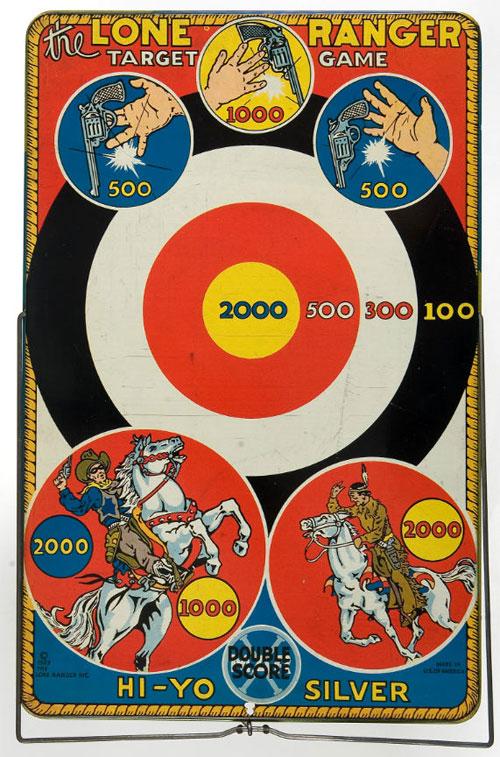 hakes lone ranger target game