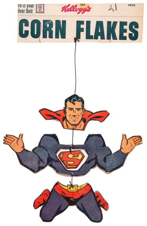 hakes superman corn flakes mobile