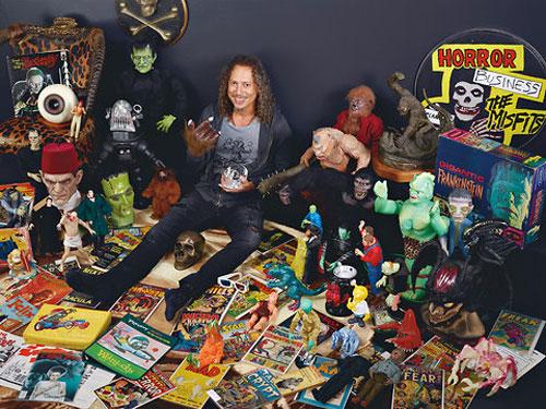 Metallica's kirk hammett's pop culture monster collection
