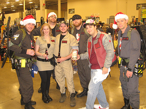 steel city con 2012 Ghostbusters cosplay