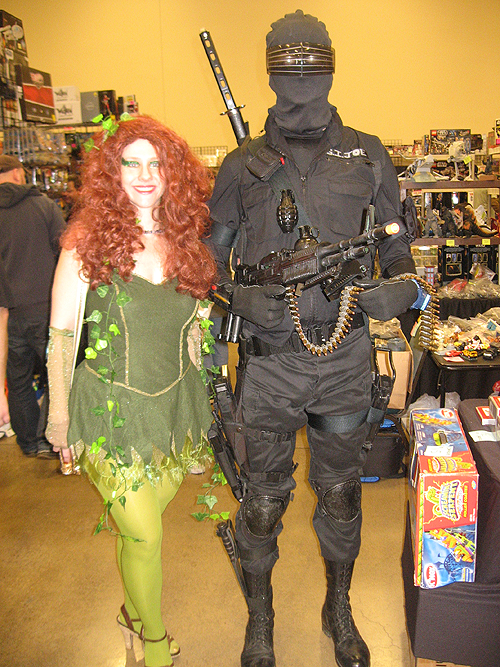 steel city con 2012 snake eyes and poison ivy cosplay