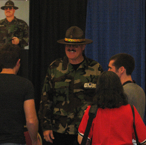 steel city con 2012 Sgt. Slaughter