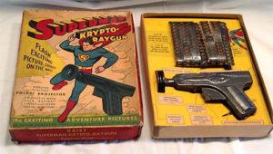 superman krypto raygun