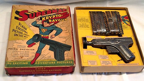 superman krypto raygun