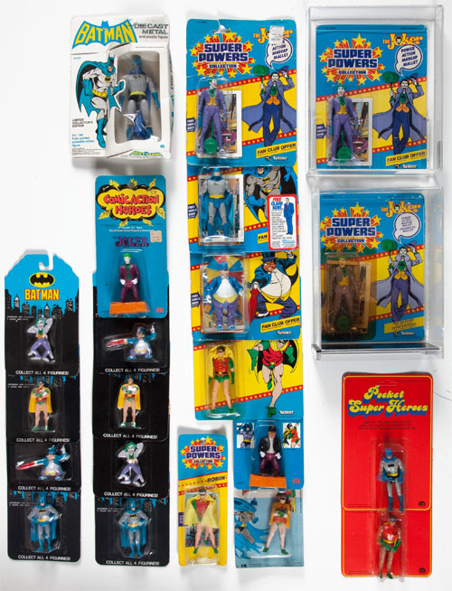 super powers kenner action figures collection