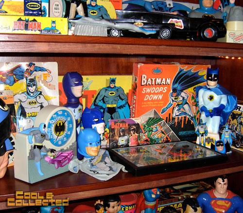 vintage batman toy collection