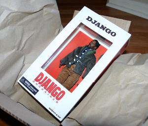 django unchained action figure by neca