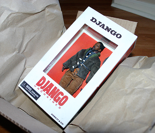 django unchained action figure by neca