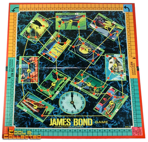 james bond secret agent board game