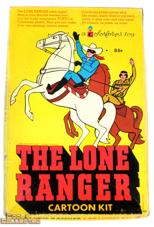 vintage lone ranger colorforms