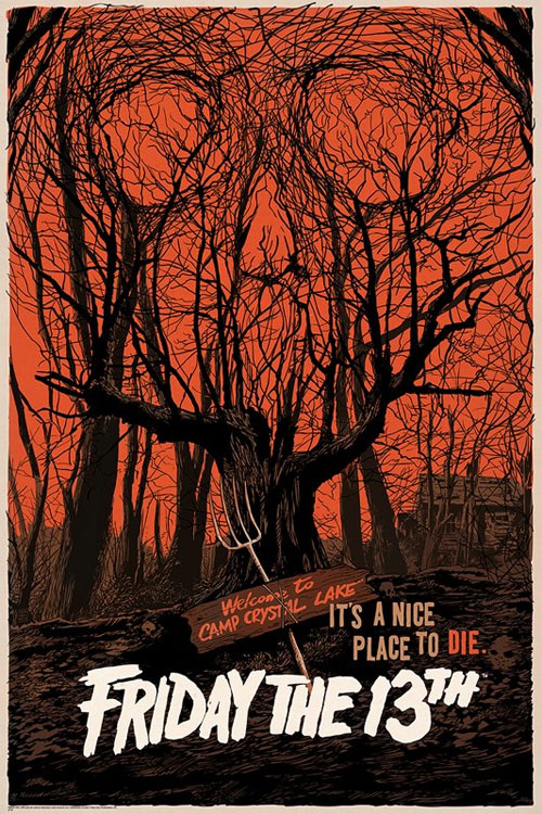 mondo friday the13th poster