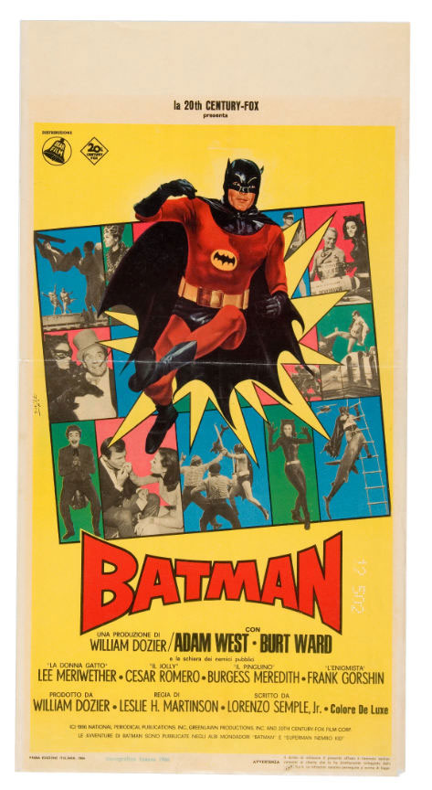 batman italian movie poster