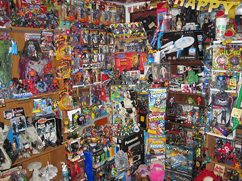 vintage toy collection