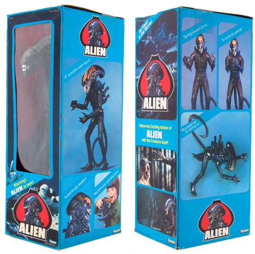 kenner alien figure with box