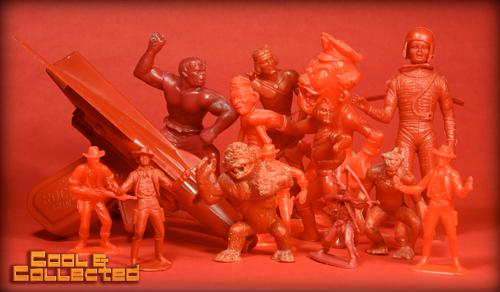vintage red toys