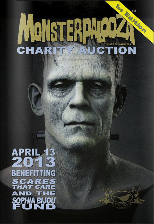 blacksparrow monsterpalooza auction