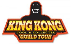 king kong world tour logo