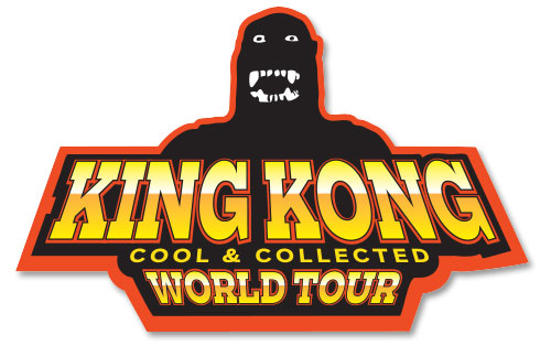 king kong world tour logo