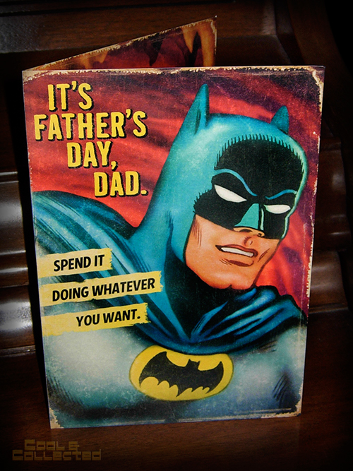 batman fathers day card