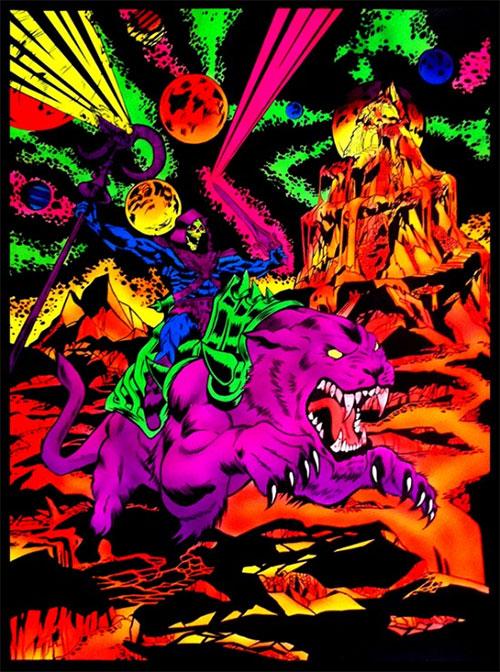 skeletor and panthor - Brian Crabaugh