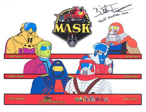 MASK-signed-matt-trakker