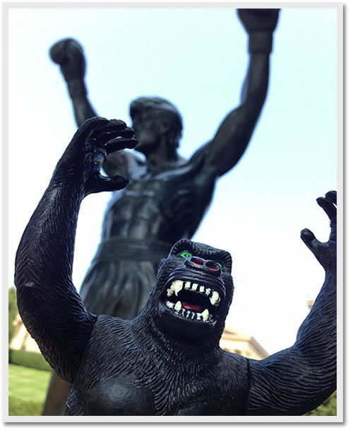 king kong and rocky