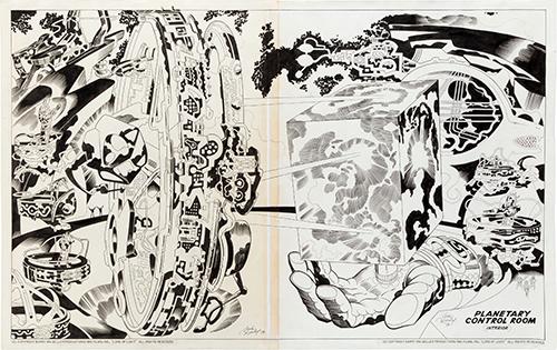 argo artwork by jack kirby