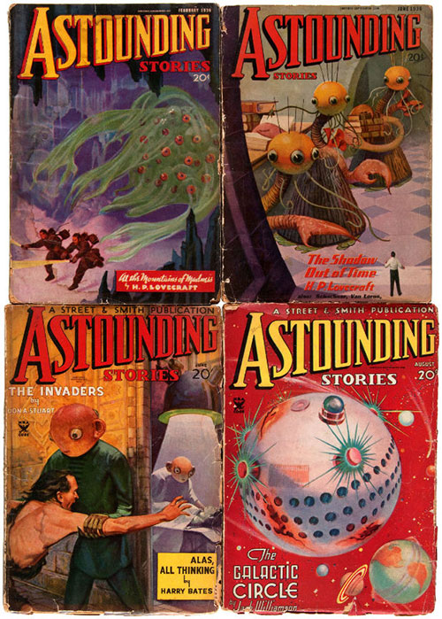 hakes astounding stories