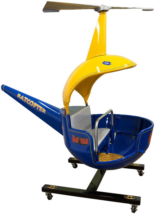 hakes batman batcopter ride