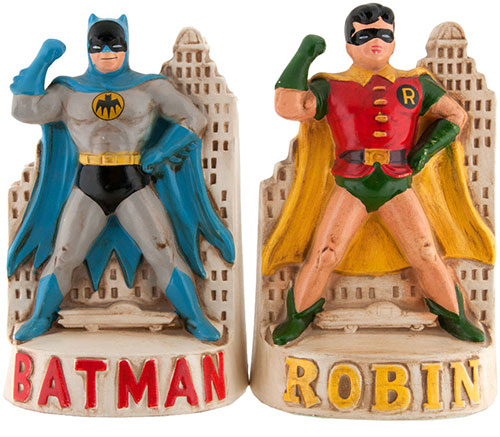 hakes batman robin bookends