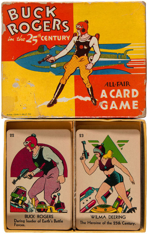 hakes buck rogers card game