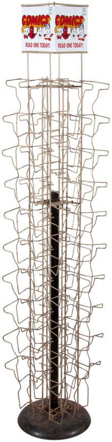 hakes comic spinner rack