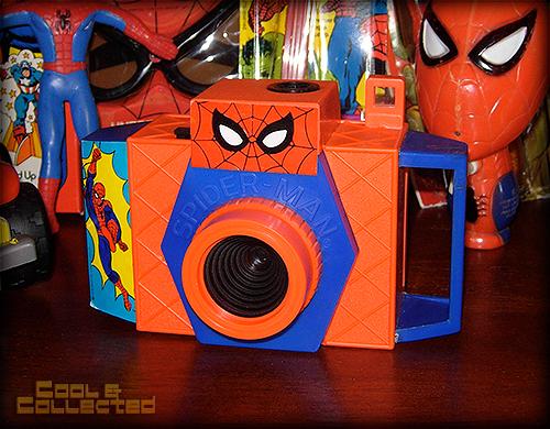 spiderman toy camera