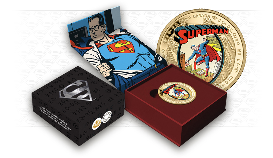 superman canadian collector coins