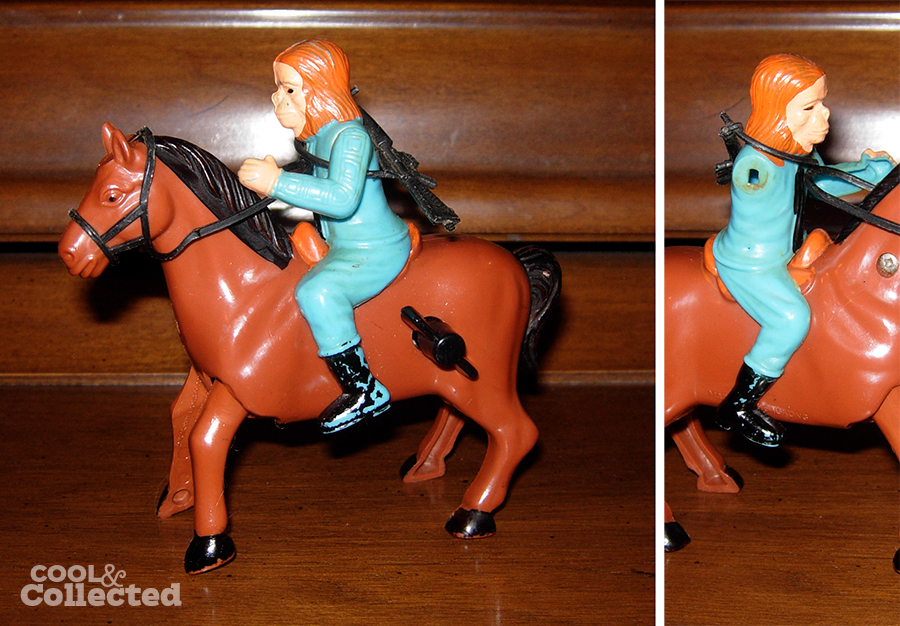 windup planet of the apes zaius horse