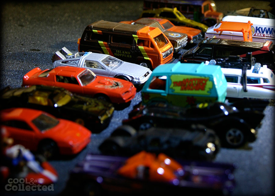 pop culture Hot Wheels car collection