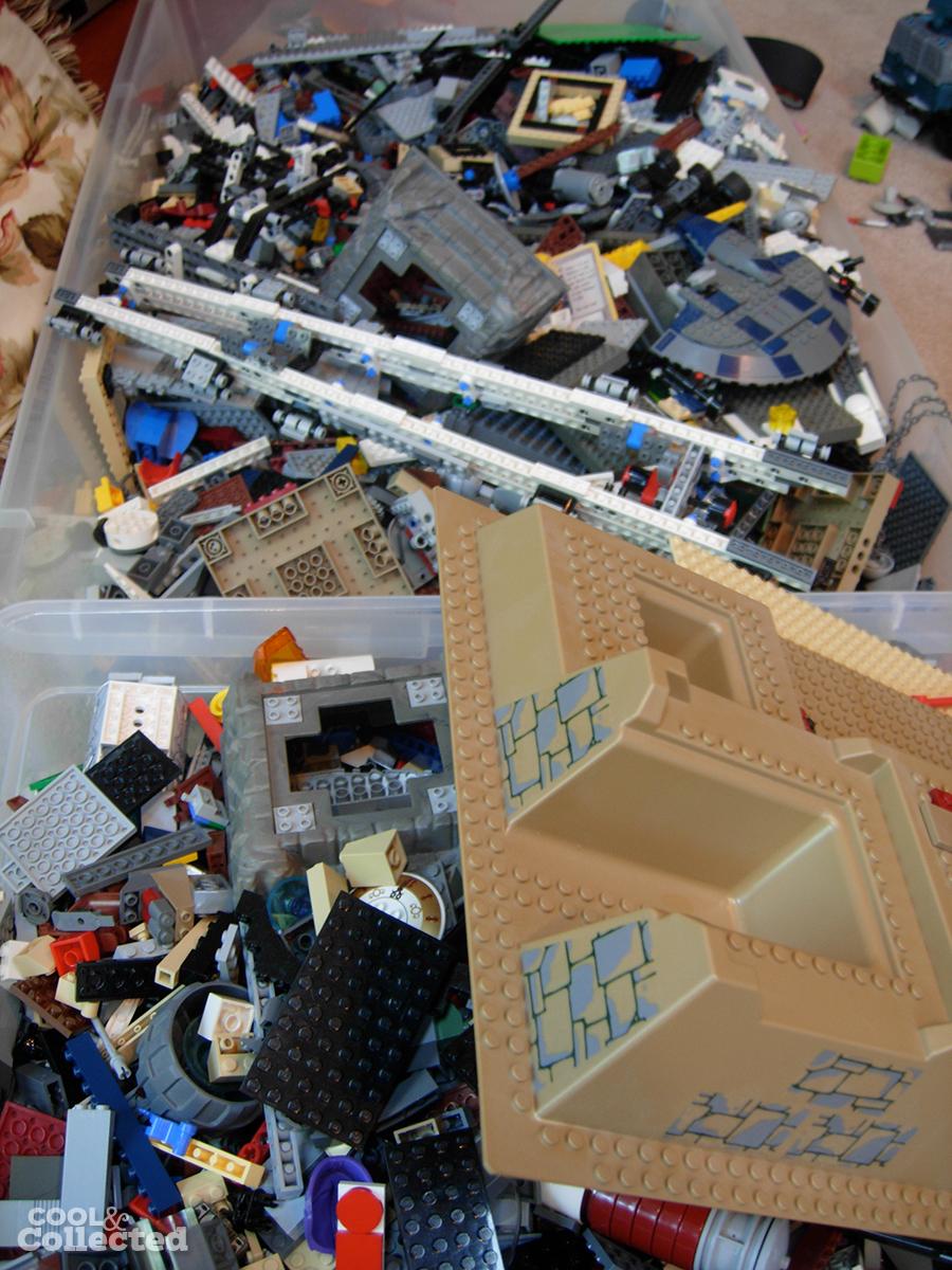 yard sale star wars lego collection