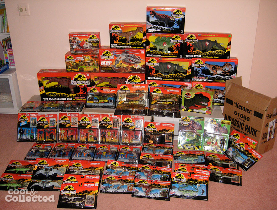 jurassic park toy collection