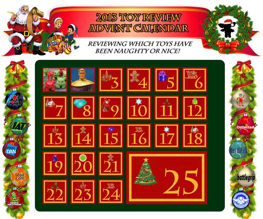 action figure advent calendar