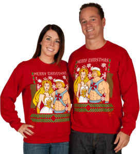 he-man she-ra christmas sweater