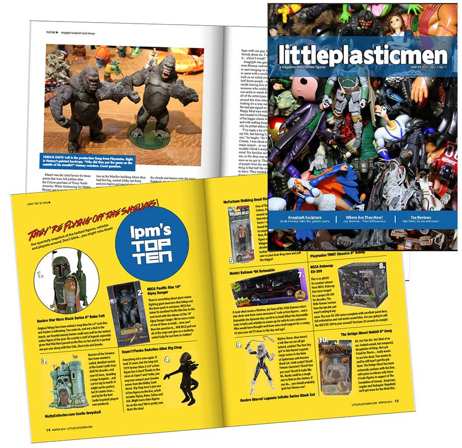 littleplasticmen magazine
