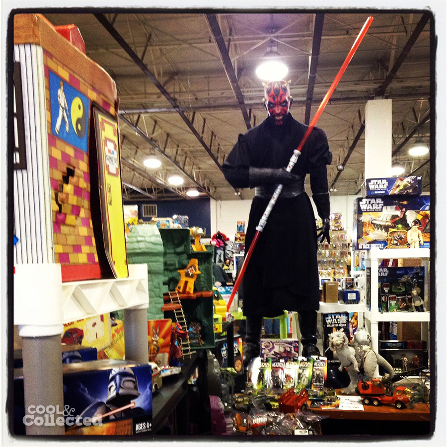 timonium toy show darth maul