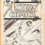 action comics #15 original art